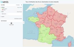 Cartographie Open Data Covid
