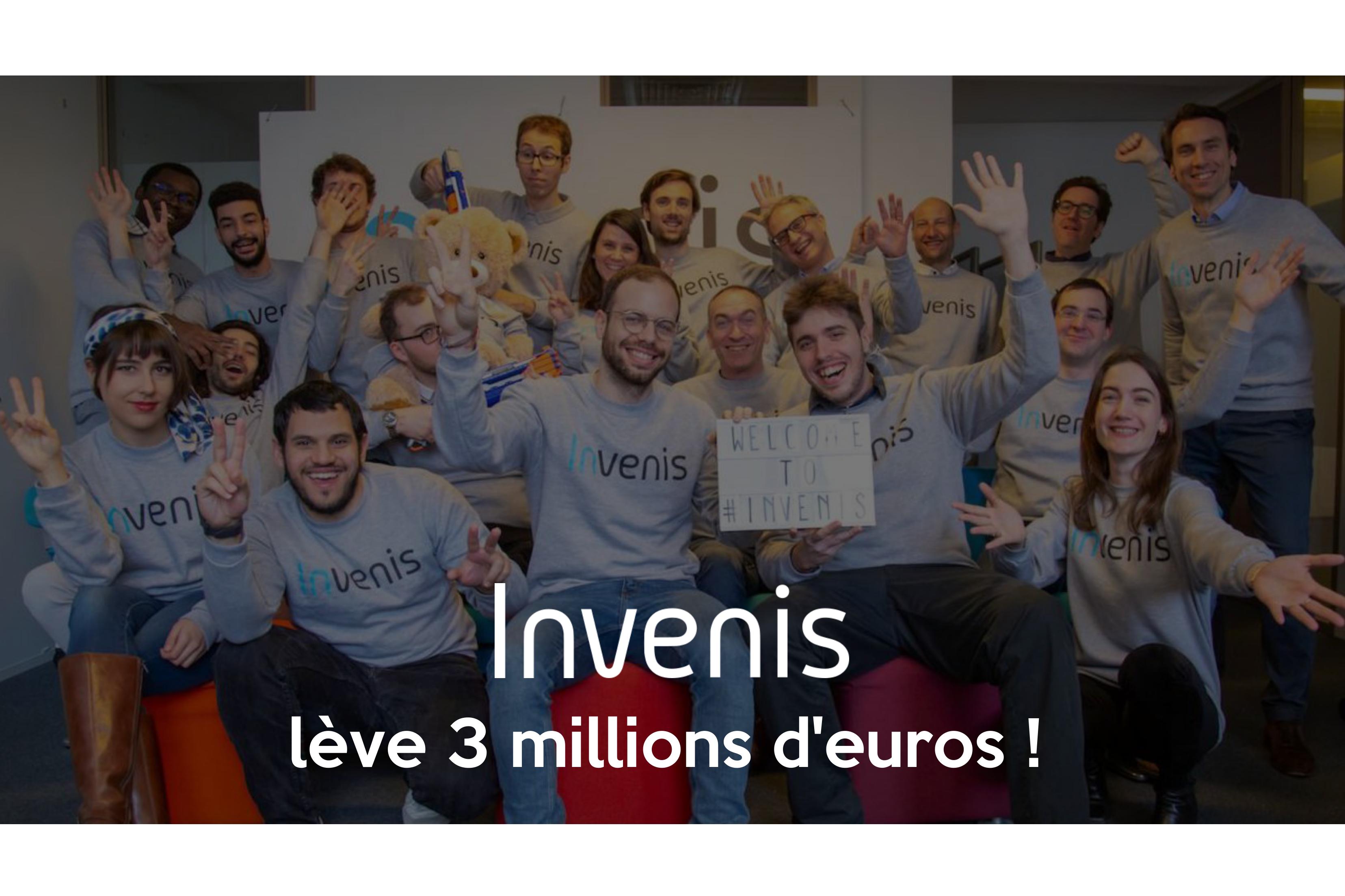 Equipe Invenis lève 3 millions €