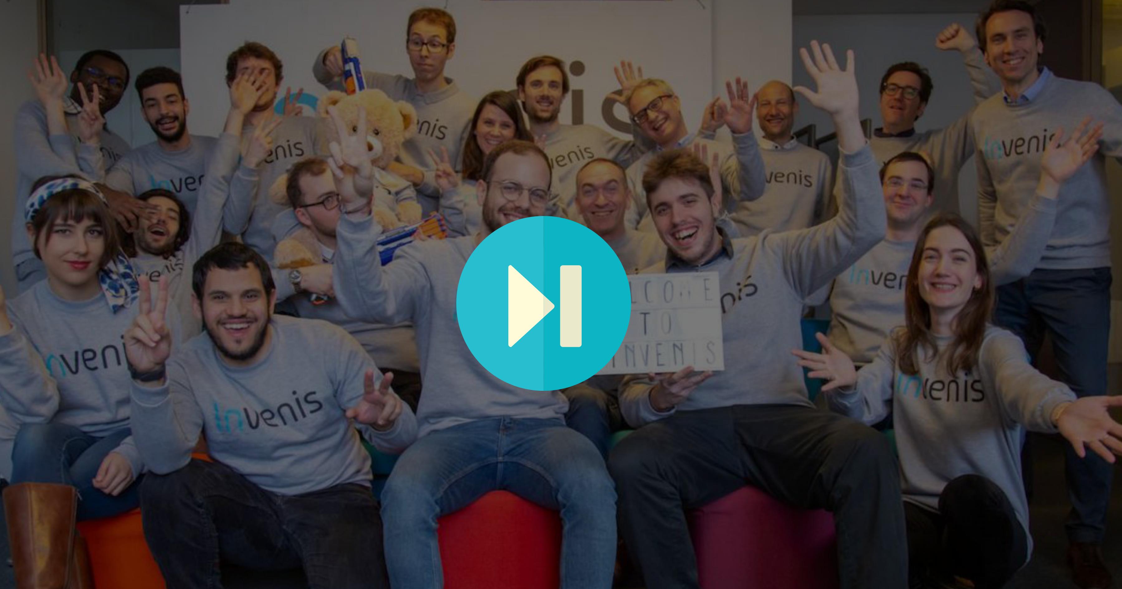 Vidéo Equipe levée de fonds Invenis